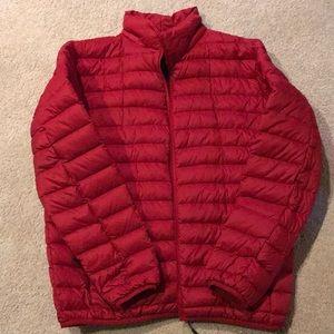 Winter packable jacket